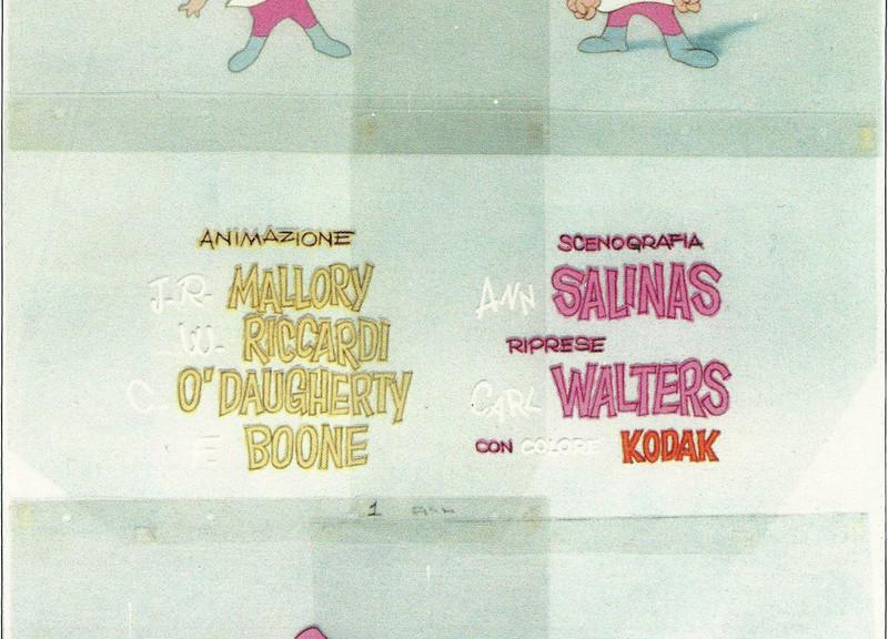 Tutti i nomi citati nei credits del cortometraggio sono... finti!