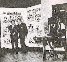 Mario Gentilini e Luigi Silori.