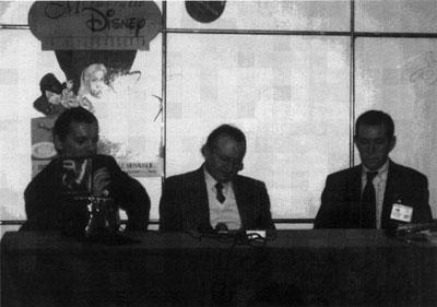 Leonardo Gori, Romano Scarpa e Andrea Sani.