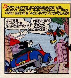 """...""""Topolino e la banda dello sternuto""""."""