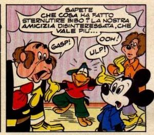 """... """"Topolino e la banda dello sternuto""""."""