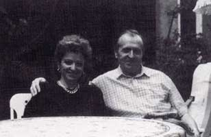Romano e Sandra Scarpa, 1991.