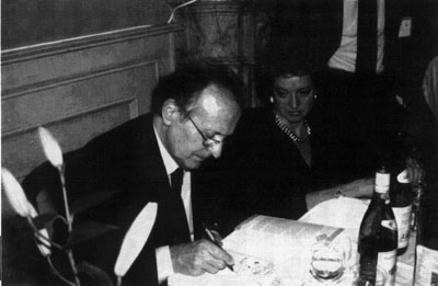 Romano Scarpa all'opera.
