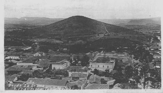 Vecchia cartolina di Tegucigalpa
