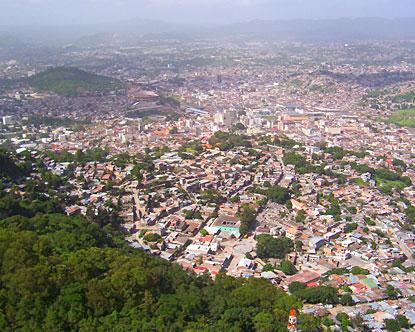 Tegucigalpa oggi