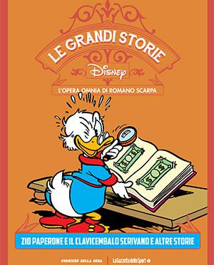 Le grandi storie Disney Vol. 8 – Zio Paperone e il clavicembalo scrivano