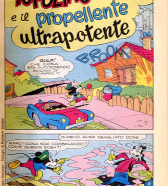 Topolino e il propellente ultrapotente su Disney BIG #73