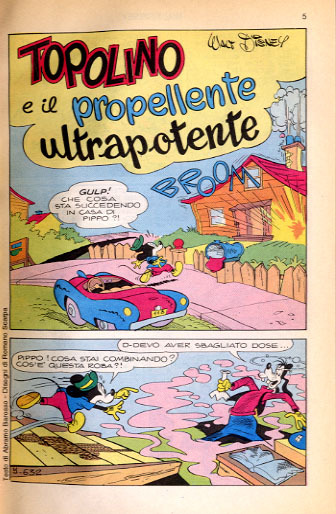 Topolino e il propellente ultrapotente