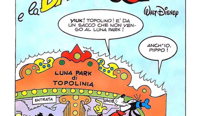 Topolino e la bionda sospetta sui Grandi Classici