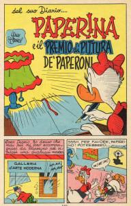 Paperina e il premio di pittura De' Paperoni