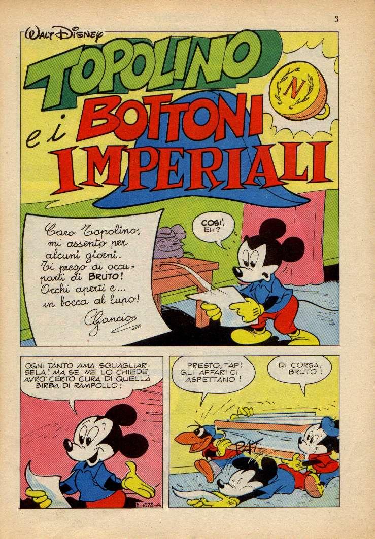 Topolino e i bottoni imperiali