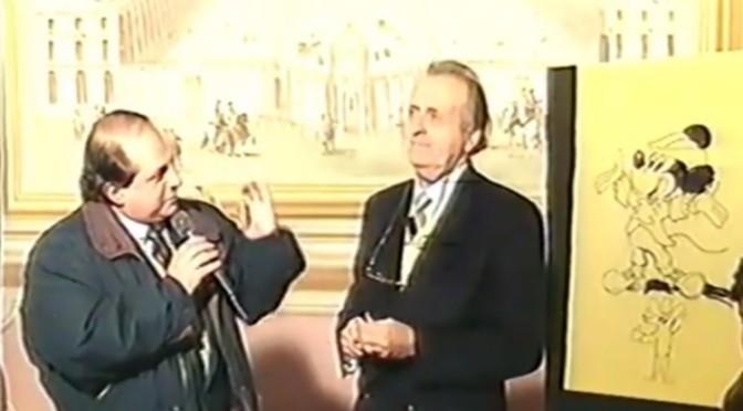 """Romano Scarpa e Giorgio Cavazzano ospiti di """"Servizio a domicilio"""""""