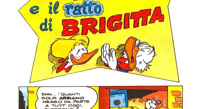 Zio Paperone e il ratto di Brigitta su I migliori anni Disney 1961