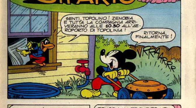 """""""Topolino dietro il sipario"""" su Topolino Story 1985"""