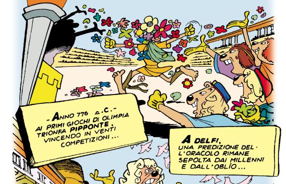 Pippo e i parastinchi di Olympia sui Grandi Classici #7